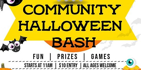 Community Halloween Bash Fundraiser tickets
