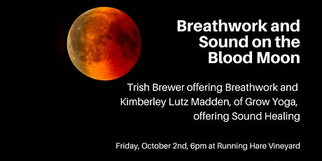 Breathwork and Sound on the Blood Moon tickets