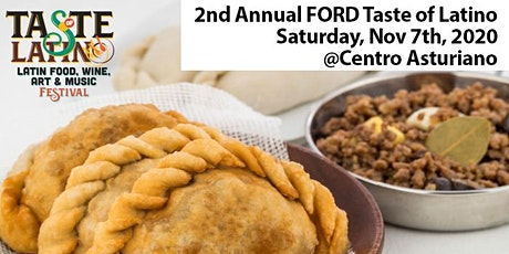 2nd Annual Taste of Latino: Music, Food & Wine Festival @ Centro Asturiano tickets
