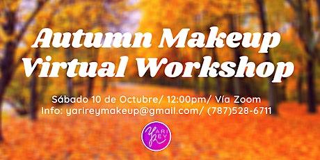 Autuum Makeup Virtual Workshop entradas