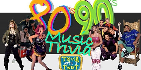 80's & 90's Name That Tune Trivia with a Twist tickets