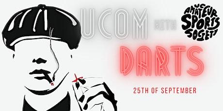 UCOM Darts with UCASS tickets