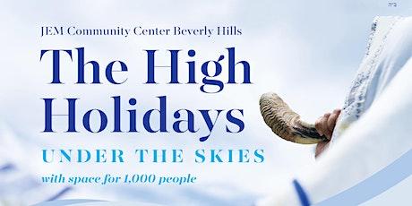 Free JEM High Holidays- Under the Sky -Rosh Hashana and Yom Kippur Services tickets