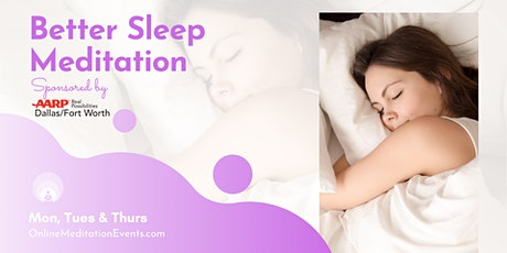 Better Sleep Meditation- Zoom Session tickets