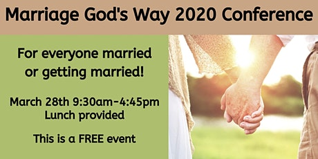 Marriage God's Way Conference tickets