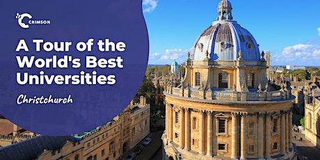 A Tour of the World's Best Universities | Christchurch tickets