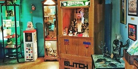 Tarot Card Reads in the Museum of Curiosities! it's Zoltar! Live! tickets