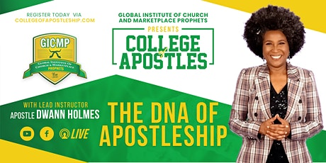 GICMP COLLEGE OF APOSTLES tickets