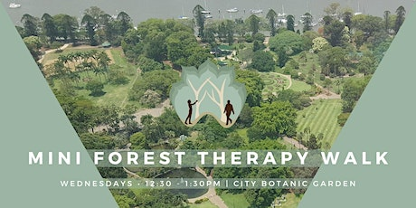Mini Forest Therapy -  Mindfulness in the City Botanic Gardens tickets