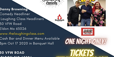 Laughing Class Comedy, Danny Browning tickets
