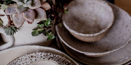 PRIVATE  - Breakfast Set Workshop - Rustic Wares Plus Sized tickets