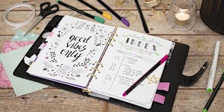 Handmade Fonts & Journal workshop tickets