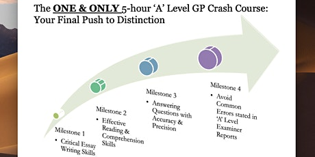 A-Level General Paper (GP) Exam Crash Course tickets
