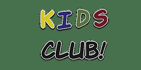 Kids Club tickets