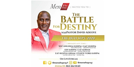 The Battle for Destiny (Men Who Pray September Mee tickets