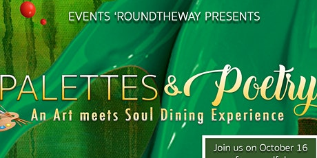 Palettes & Poetry | Paint Party & Dinner Show tickets