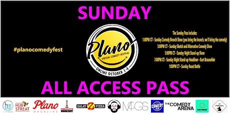 Plano Virtual Comedy Festival - Sunday All Access Pass tickets