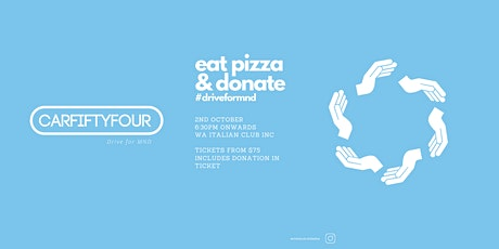 Car54 - All you can eat pizza & donate tickets