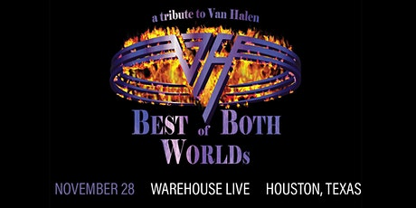 BEST OF BOTH WORLDS (TRIBUTE TO VAN HALEN), LIGHTS OUT (TRIBUTE TO UFO) tickets