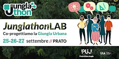 Junglathon : presentazione progetti biglietti