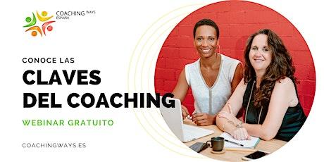 Webinar: Las Claves del Coaching entradas