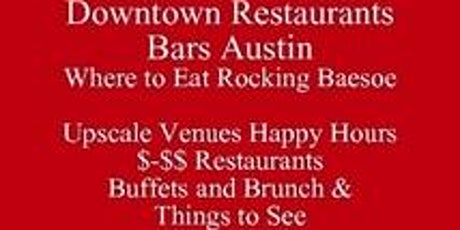 Covid 19  Where to Eat Downtown Restaurants Austin 3-Day Itinerary by PDF tickets