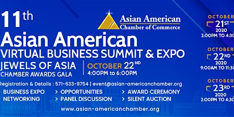11th Annual Asian American Business Summit & Expo tickets