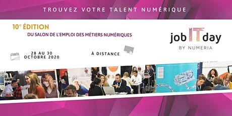 Job IT Day 2020 by Numeria billets
