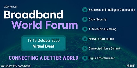 Broadband World Forum tickets