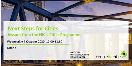 Next steps for Cities tickets