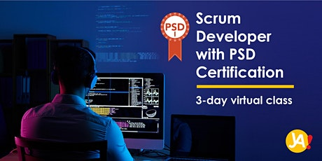 Scrum Developer with Scrum.org PSD I Certification (3-Day Virtual, Oct '20) tickets