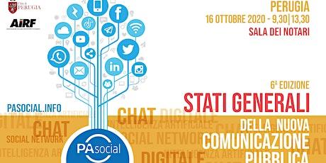Stati Generali della nuova comunicazione pubblica - Sesta edizione biglietti