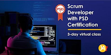 Scrum Developer with Scrum.org PSD I Certification (3-Day Virtual, Dec '20) tickets