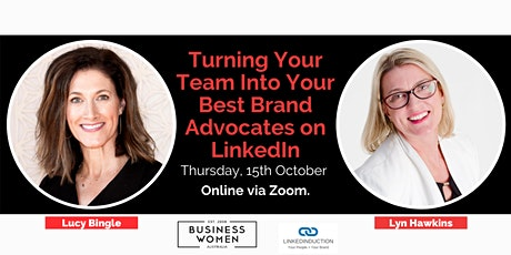 Online: Turning Your Team into Your Best Brand Advocates on LinkedIn tickets