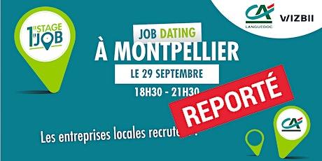 Job Dating Montpellier : décrochez un emploi dans votre région billets