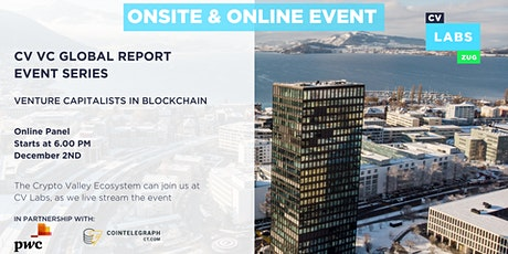 CV VC Global Report - Venture Capitalists in Blockchain tickets