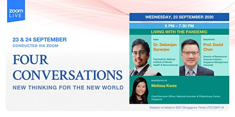 Conversation 2: Living with the Pandemic   Four Conversations tickets