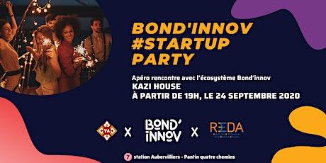 Bond'innov Startup Party billets