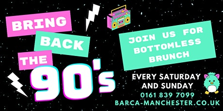 90's Bottomless Brunch tickets