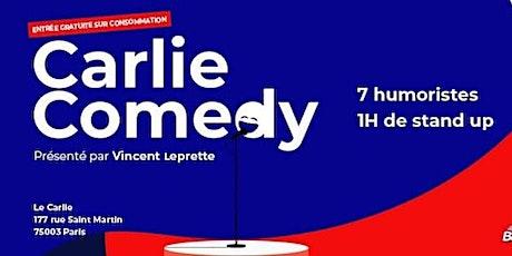 Carlie Comedy / Mardi 22 Septembre 20H billets