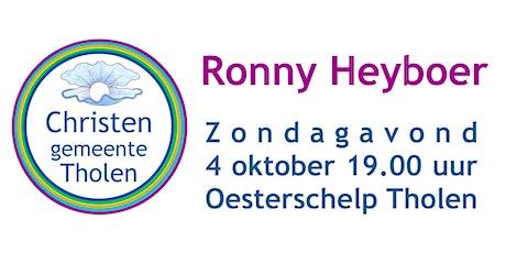 Ronny Heyboer 4 oktober 2020 tickets
