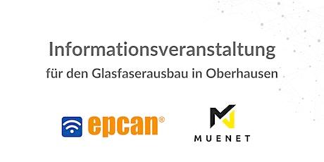 Infoveranstaltung Oberhausen - 30. September 2020 Tickets