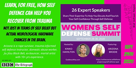 FREE Talk: How Self Defence Heals Trauma tickets