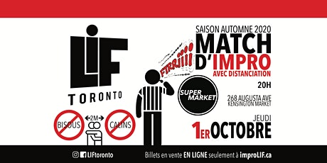 LIF - Match d'Impro avec Distanciation billets