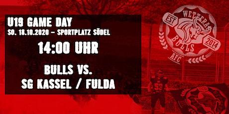 U19 - Wetterau Bulls vs. SG Kassel-Fulda Tickets