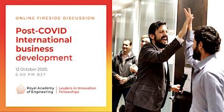 Post-COVID international business development tickets