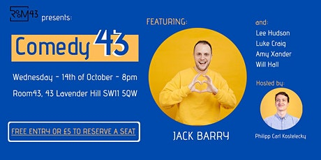 Comedy 43 - 14th of October tickets