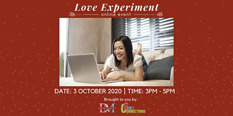 Love Experiment (Online Event) (50% OFF) tickets