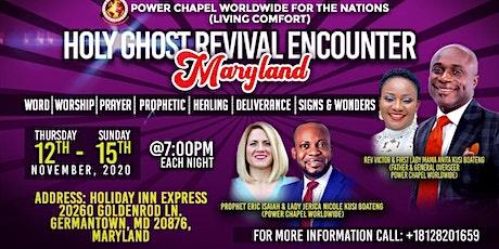 HOLY SPIRIT REVIVAL ENCOUNTER MERYLAND tickets