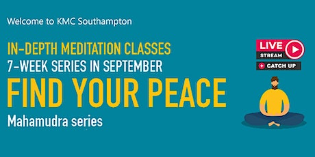 Find Your Peace | In-Person & Online Meditation Classes tickets